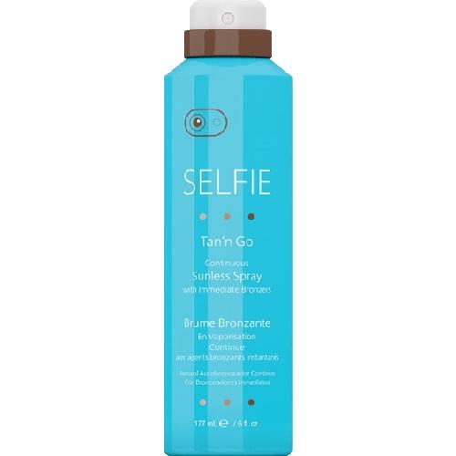 Selfie Tan'N Go Continuous Sunless Spray  6Oz