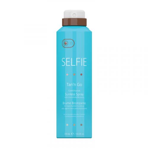 Selfie Tan'N Go Continuous Sunless Spray  12.5Oz
