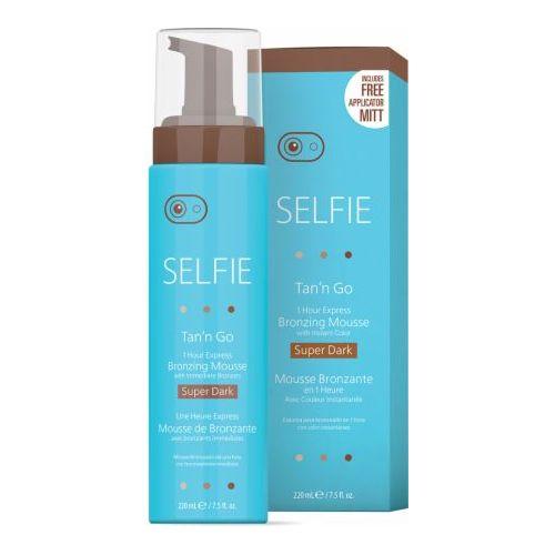 Selfie Tan'N Go Mousse-Super Dark 7.5Oz